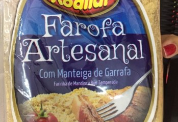 Farofa Artesanal Com Manteiga de Garrafa Kodilar