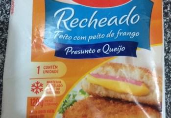 Empanado de Frango Recheado com Presunto e Queijo Seara