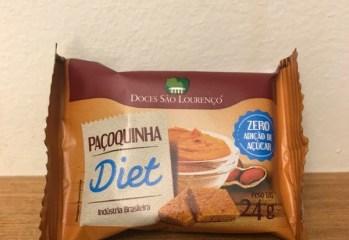 Paçoquinha Diet Doces São Lourenço
