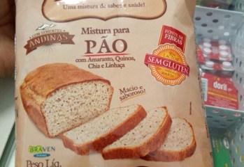 Mistura para Pão com Amaranto, Quinoa, Chia e Linhaça King Mix