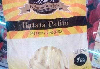 Batata Palito Pré Frita Congelada Minerva
