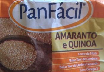 Mistura para Pão Integral Amaranto e Quinoa Panfácil