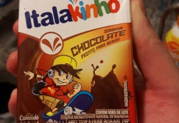 Bebida Láctea UHT Sabor Chocolate Italakinho Italac