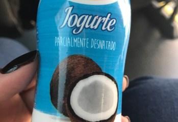 Iogurte com Polpa de Coco Parcialmente Desnatado Frimesa