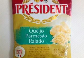 Queijo Parmesão Ralado Président