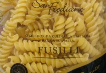 Massa Alimentícia Fusilli San Frediano