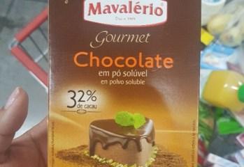 Chocolate em Pó Solúvel 32% Cacau Mavalério