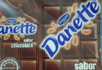 Bebida Láctea UHT Sabor Chocolate Danette Danone