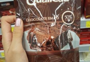 Chocolate em Pó 50% Cacau Qualicau Qualicoco