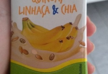 Bebida Láctea com Cereais Quinoa, Linhaça & Chia Sabor Banana Piracanjuba