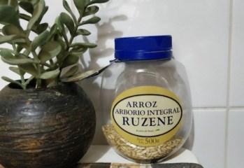 Arroz Arborio Integral Ruzene