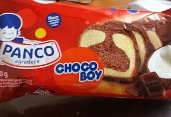 Bolo Mesclado Sabor Coco e Chocolate Choco Boy Panco