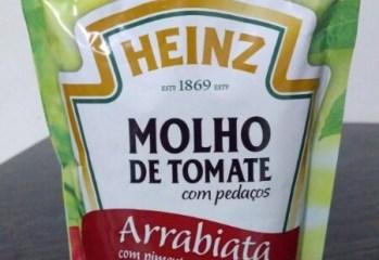 Molho de Tomate Com Pedaços Arrabiata Heinz