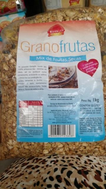 Mix de Frutas Secas Granofrutas Geração Saúde