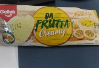Picolé Mousse de Maracujá Da Frutta Creamy Gellak