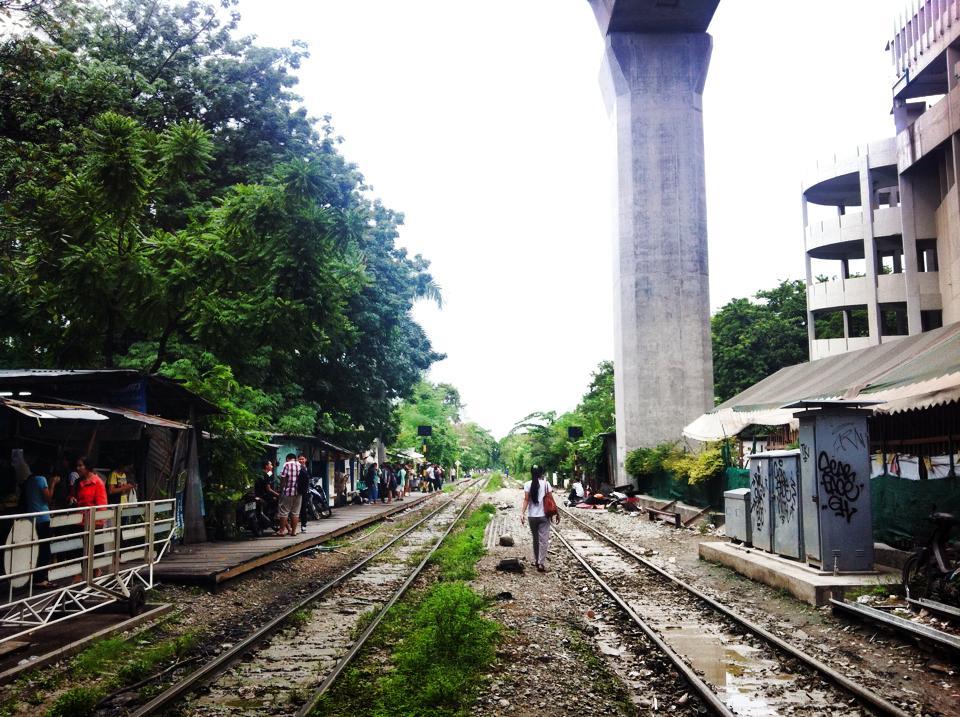タイの線路複線化