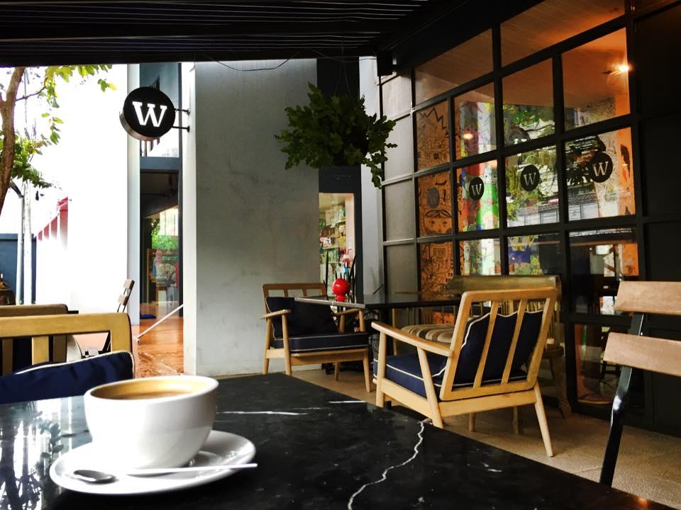 Wonderwall The Kaffebarのテラス席