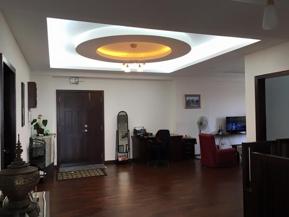 Yangon Condominium living room