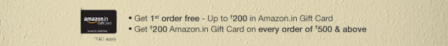 Get Up to Rs.200 Gift Card