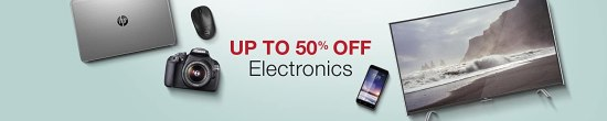 Up to 50% Off Electronics