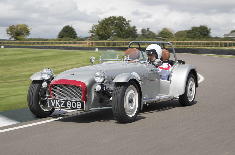 Caterham Super Sprint 2017 cars  Goodwood Motor Racing Circuit 8th August 2017  Photos - Jed Leicester 07967 091226