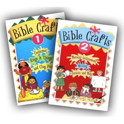 Bible crafts for kids 2 books