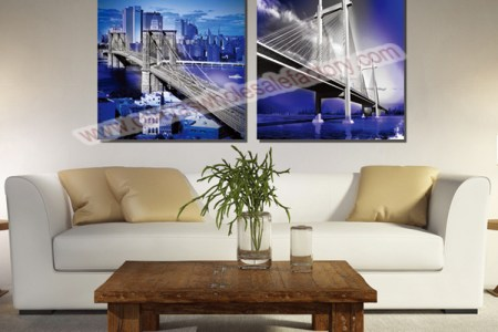 wholesale home decor canvas art prints painting of new york city custom print photo on canvas