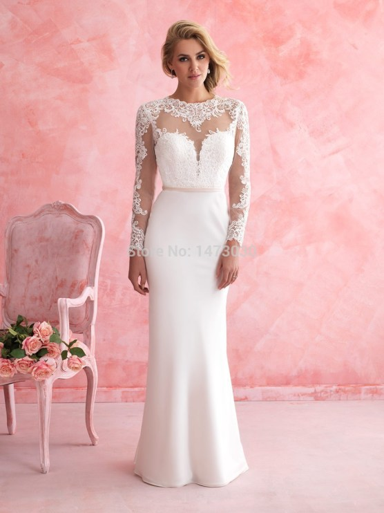 http://i1.wp.com/g01.a.alicdn.com/kf/HTB14XtdIXXXXXaxXXXXq6xXFXXX0/Custom-Made-Beautiful-Lace-Appliques-O-Neck-Long-Sleeves-Wedding-Dress-For-Petite-Women-Brides-2015.jpg?resize=556%2C742