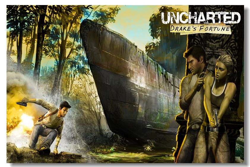 Poster do filme Uncharted 1 - O Filme