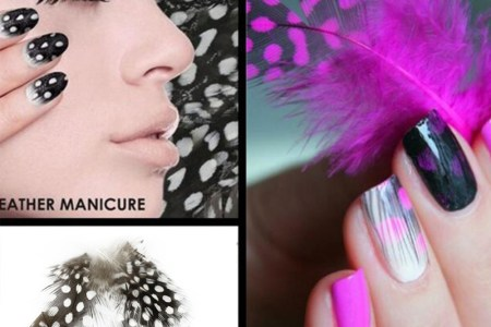 fashionable nail decorations art tips feather water font b transfers b font nail sticker for ladies