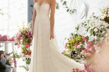 beach chiffon sweetheart beadings summer style wedding dresses cheap 2015 hot sale floor length bridal gowns