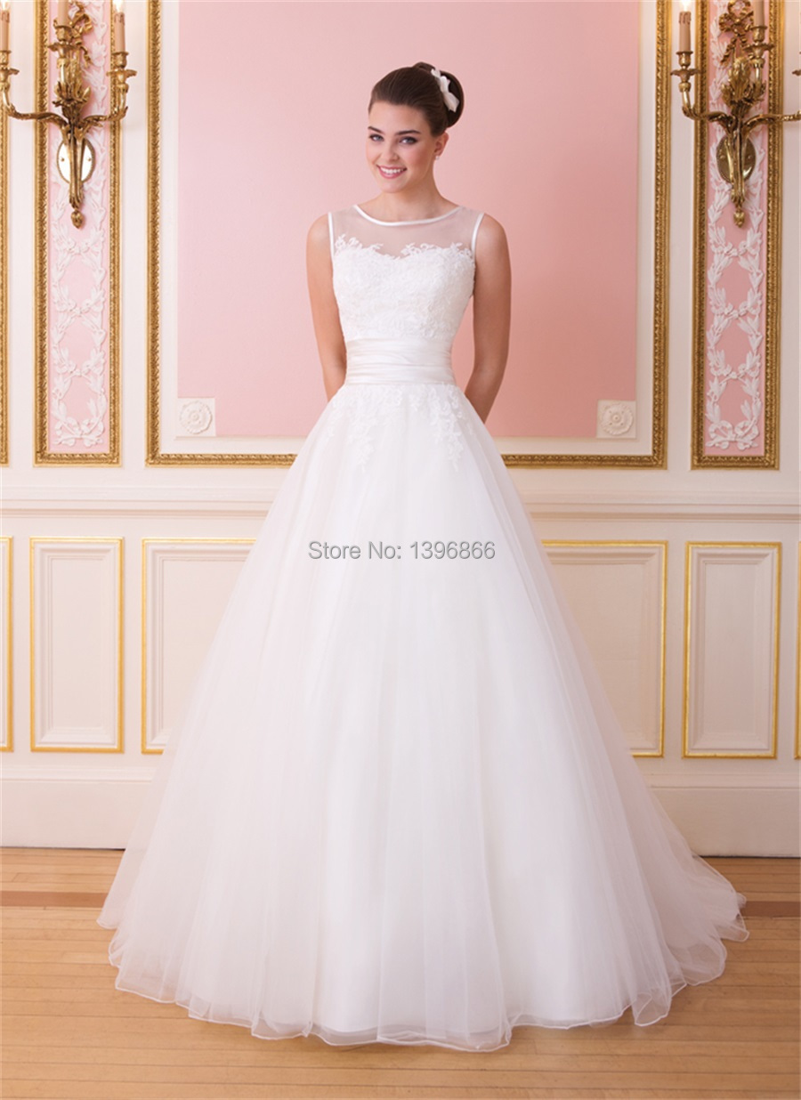 illusion tops for wedding dresses sheer top wedding dress Illusion tops for wedding dresses