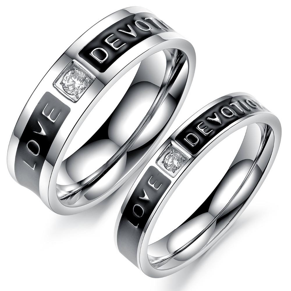 black and white diamond wedding ring set 2 black wedding ring sets Black And White Diamond Wedding Ring Set