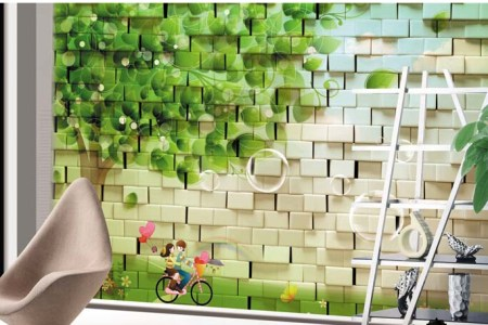 1356 can be customized 3d visual space home decoration mural art dream children personality wall