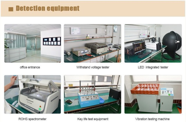 deteciton equipment