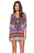 Vestido de hippie Aliexpress Verão 2015