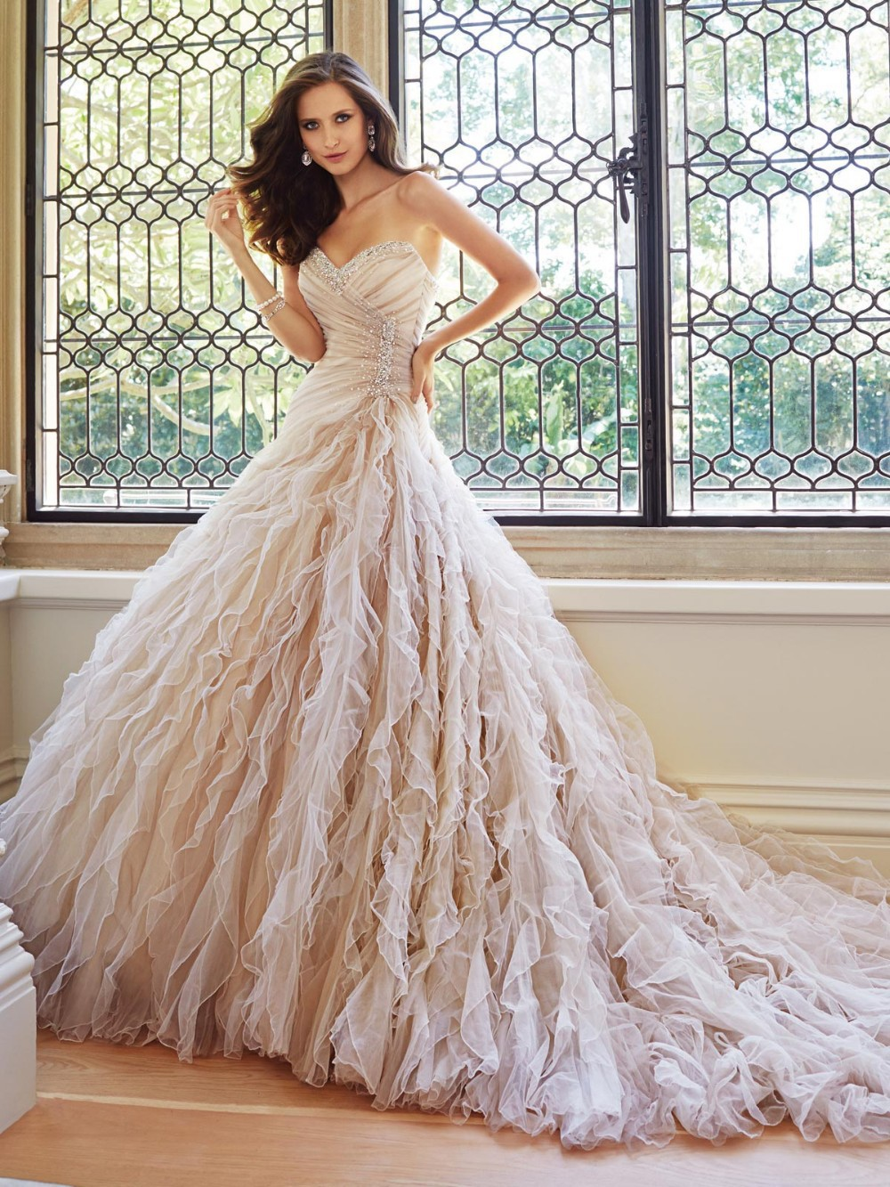 expensive wedding dress Aliexpress com Buy New Sleeveless Mermaid Beadings Crystals Expensive Wedding Dress from Reliable expensive wedding dresses suppliers on VivinTong