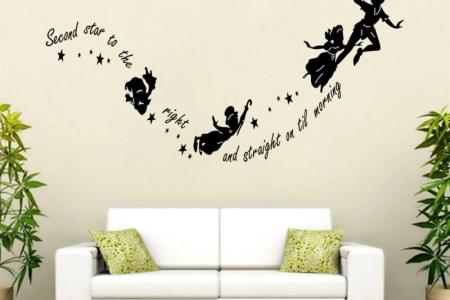 hot sale 2015 wall decal diy decoration fashion romantic wall sticker wall stickers home decor manufacture
