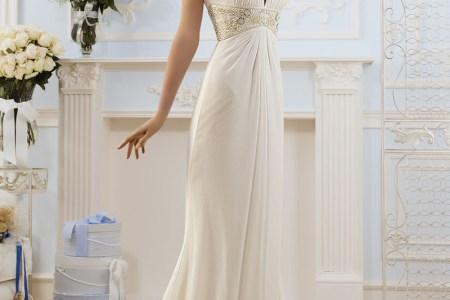 imh104 romantic 2016 wedding dresses elegant ivory high neck beaded greek style beach wedding dresses simple