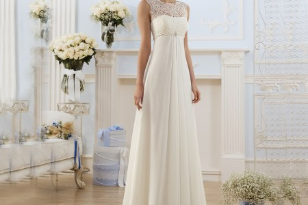 2016 country style elegant ivory lace illusion beaded beach wedding dresses simple vestidos de noiva chiffon
