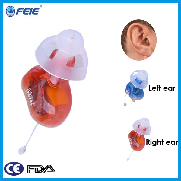 They look like hearing aids but produce white noise to mask tinnitus 1