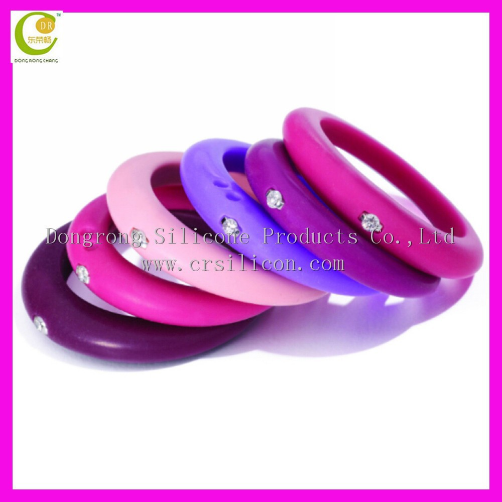 silicone wedding ring wedding ring Silicone Wedding Ring With Diamond For Women Buy Silicone Wedding