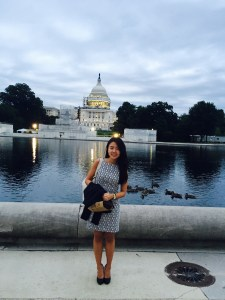 KyuLim Lee at the US Capitol