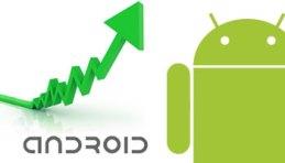 Android crece, iPhone, BlackBerry y Microsoft caen
