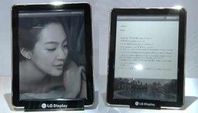 E-readers de LG con pantallas de tinta electrónica en color