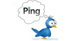 Ping en Twitter