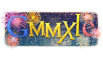 Google feliz 2011 Doodle