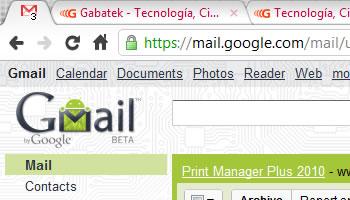 Gmail Labs - Cuenta de correos no leidos