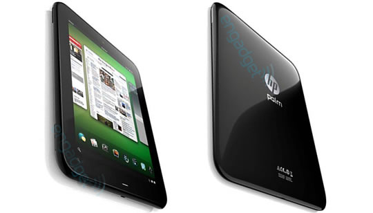 HP Palm tablets Topaz y Opal