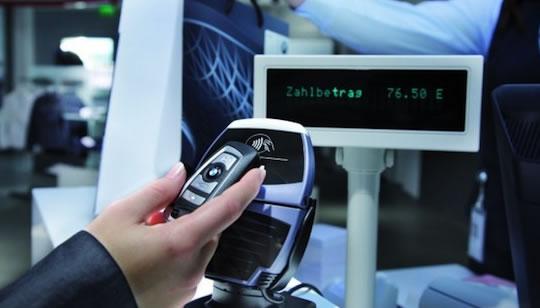 BMW y sus llaves con tecnología NFC